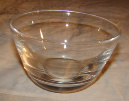 """Small Steuben Glass Bowl Hand Signed 2.5"""" x 4.5"""" - $30.00"""