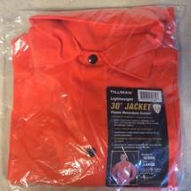 """Tillman Flame Retardant Orange 30"""" Welding Jacket 6230DL Large NEW Sealed - $25.65"""