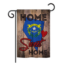 """State Nevada Home Sweet Home - 13"""" x 18.5"""" Impressions Garden Flag - G191114 - $15.97"""