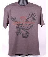 HARLEY DAVIDSON Motorcycles Shirt-L-Charcoal Gray-Thunderbird Albuquerqu... - $33.65