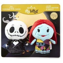 Jack Skellington & Sally Hallmark itty bitty bittys  Nightmare Before Ch... - £25.88 GBP