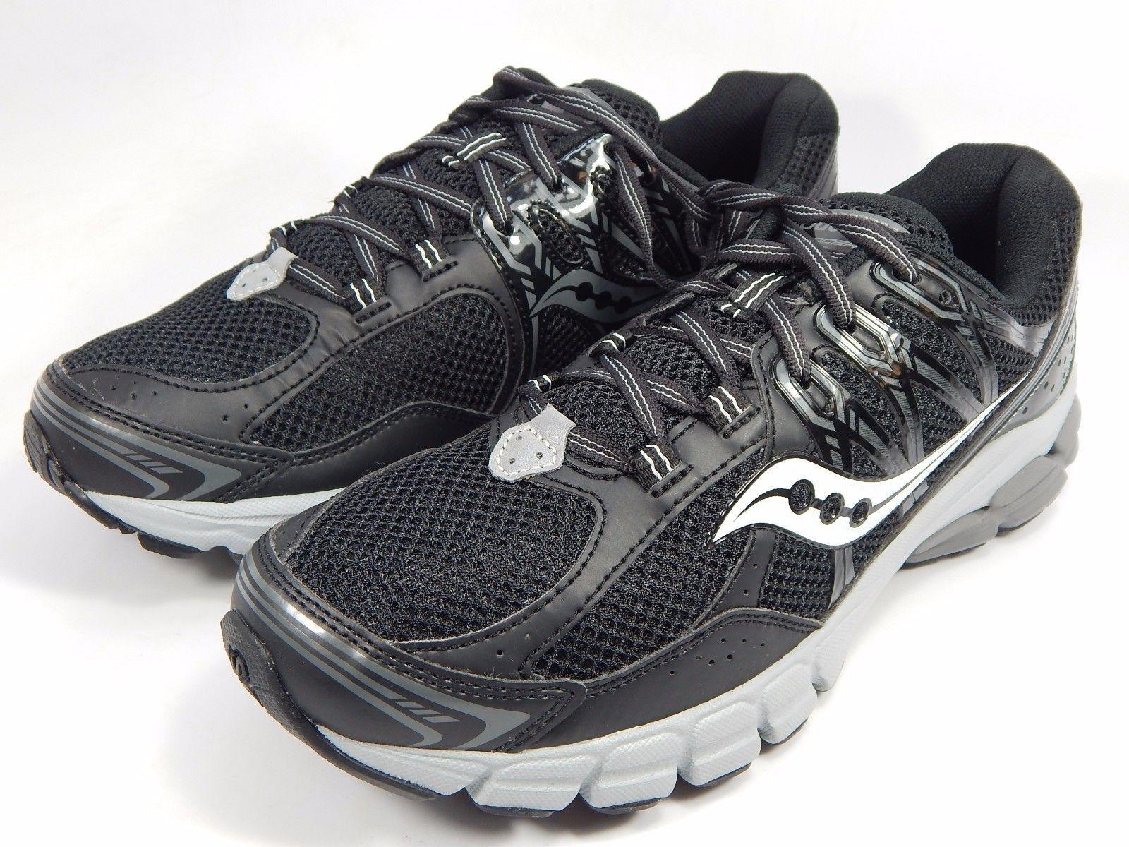 Saucony Lancer 2 Men's Running Shoes Size US 9 M (D) EU 42.5 Black Gray S25264-5