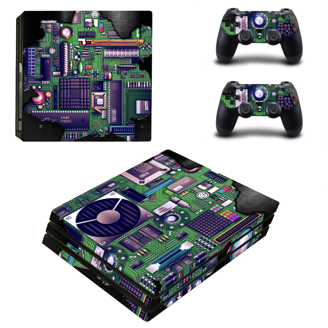 Faceplates, Decals & Stickers Kingdom Hearts Vinyl Skins Decals Stickers Set For Ps4 Pro Consoles Controllers A Great Variety Of Goods Video Game Accessories