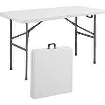 Best Choice Products 4ft Indoor Outdoor Folding Portable Plastic Picnic ... - $103.95