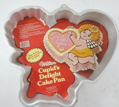 Wilton Cupid's Delight Valentine Mold Cake Pan Cover Sheet 2105-3279 502... - $32.19