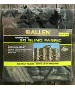NEW Allen Omnitex 3D Blind Fabric Mossy Oak Break Up Infinity Camo 12' x... - $9.89