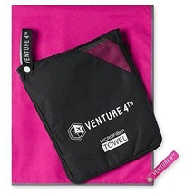 VENTURE 4TH Quick Dry Microfiber Towel Odor Resistant High Performance T... - $21.79
