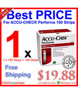 ACCU CHECK Performa 100 Test Strips Made in USA - $19.88
