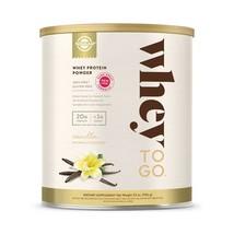 Solgar Whey To Go Protein Powder, Natural Vanilla Flavor  - $80.86