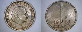 1961 Netherlands 1 Cent World Coin - $3.99