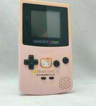 Hello Kitty Special Edition Sanrio Nintendo Gameboy Color Handheld Console - $118.79