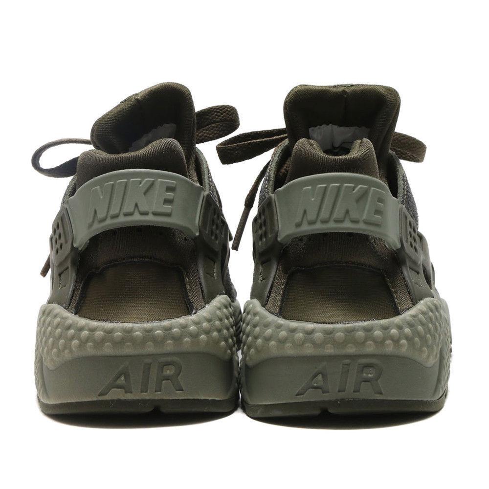 11338d08b624 Nike Air Huarache Women s Cargo Khaki Sneakers Trainers Shoes 683818-302  Size 9