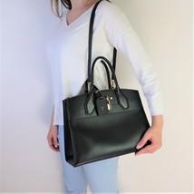 Louis Vuitton Black Leather City Steamer MM Bag - $1,699.00