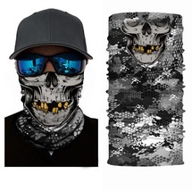 Crazy Cool Skull Winter Face Mask Bandanas Headband Multi Headwear Scarf #2 - $4.94