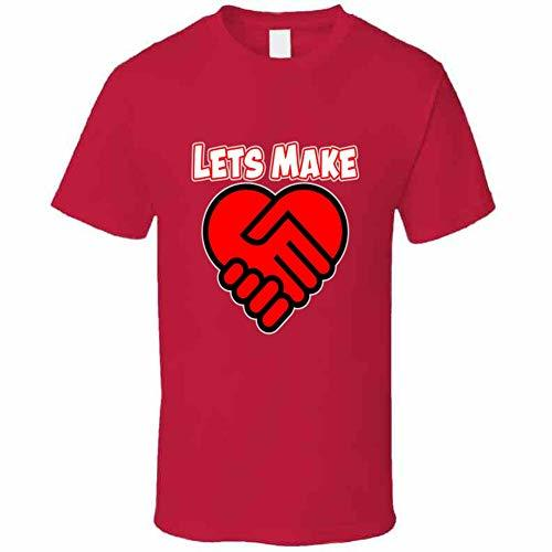 Let Make A Deal in Love T Shirt 5XL Red