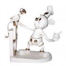 LENOX DISNEY COLLECTION MICKEY MOUSE STEAMBOAT WILLIE FIGURINE NIB - $128.69