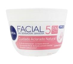 Nivea Aclarado Natural 5 en 1 Facial , Facial sin sensacion gradosa 200 ml - $18.31