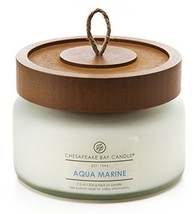 Chesapeake Bay Candle Scented Candle, Aqua Marine (Waterlily Seagrass), ... - $28.84