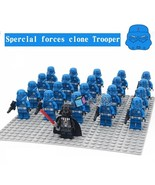 21pcs/set Star Wars Darth Vader Leader Special Forces Clone Trooper Mini... - $29.99