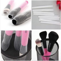 Gam-Belle® 20 pcs/set White Makeup Cosmetic Brush Guards Mesh Protectors... - $4.00