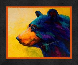 Mama Black Bear 13x16 Framed Pop Art Print  - $39.95