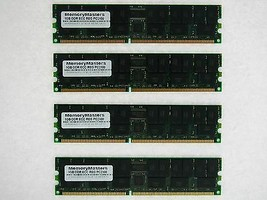 4GB (4X1GB) DDR MEMORY RAM PC2100 ECC REG DIMM 184-PIN