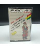Christmas carols cassette vintage music media walkman classics merry bac... - $19.80