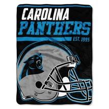 Northwest Company NFL Carolina Panthers 40 Yard Dash Micro Raschel Throw Blanket - $28.70
