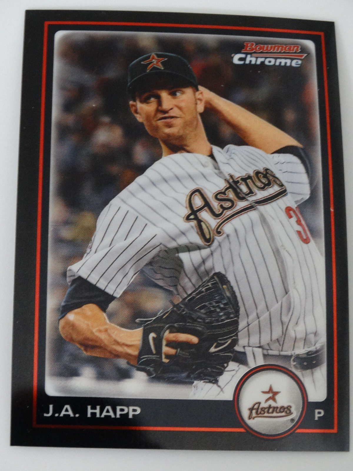 Primary image for 2010 Bowman Chrome #128 J.A. Happ Houston Astros Baseball Card