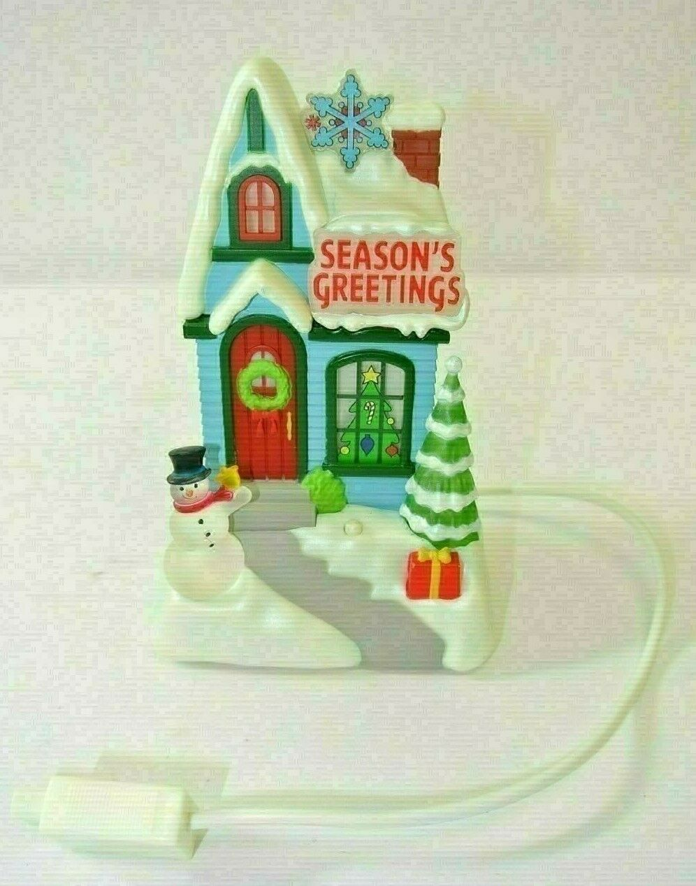 "Primary image for Hallmark ""Season's Greetings"" Caroling Cottage 1st of 4"