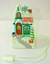 "Hallmark ""Season's Greetings"" Caroling Cottage 1st of 4 - $19.79"