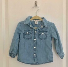 Carters Girl's Jeans Long sleeve top - $9.99