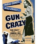 Decor Poster.Interior wall art room design.Gun Crazy movie.Retro noir fi... - $9.90+