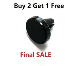 1pc black Universal Metal Air Vent Magnetic Mobile Phone Holder For iPho... - £3.82 GBP+