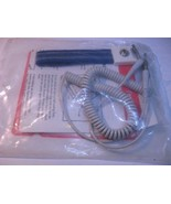 Anti-Static Wrist Strap Elastic 7mm w 6-ft Cord ESD SYSTEMS 22050 NOS Ba... - $8.54