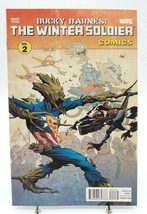 Bucky Barnes Winter Soldier 2 Rocket Raccoon & Groot Variant Cvr Dec 201... - $2.99