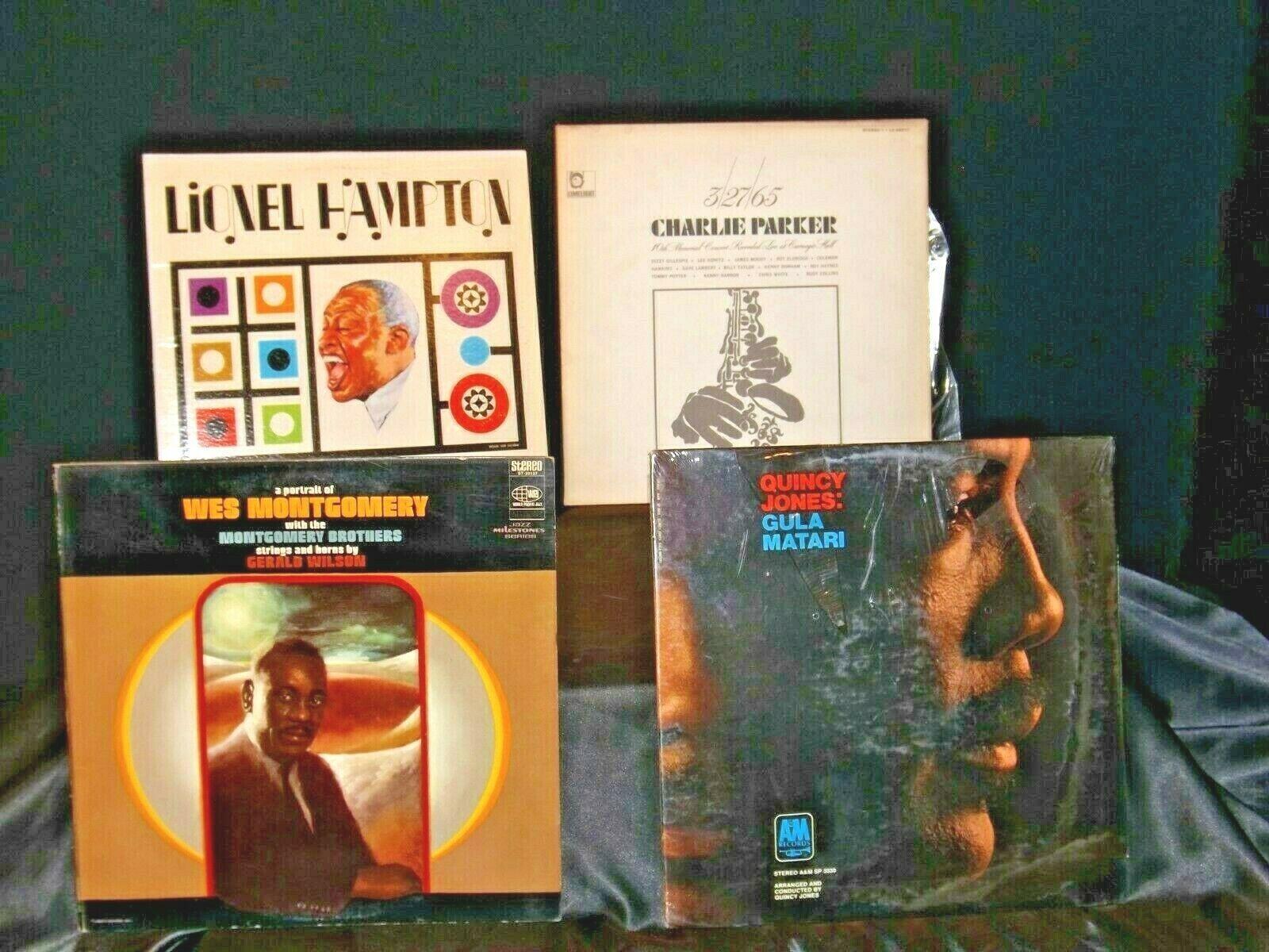 Lionel Hampton, Quincy Jones, Wes Montgomery, and Charlie Parker AA-191715 Vint