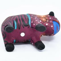 Handmade Alebrijes Oaxacan Wood Carving Painted Folk Art Buffalo Bison Figurine image 5