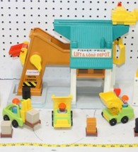 1972 Vintage Fisher Price Little People Lift and Load Depot - $59.40