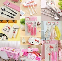 Hello Kitty Kitchen Tool Gadgets Kit Tableware Peeler Knife Fork Oil Tis... - £1.51 GBP+