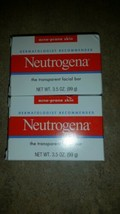Neutrogena Facial Cleansing Bar 2x For Acne-Prone Skin 3.5 oz (2 Pack) - $4.85
