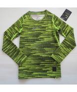 Nike Boys PRO Warm Long Sleeve Top Shirt - 856133 - Volt 702 - Size XL -... - $21.99