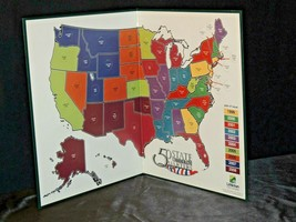 50 States Commemorative Quarter Book AA20-7448 Vintage