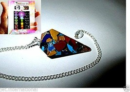 Jet New Orgone Pendulum Free Booklet Jet International Crystal Therapy A... - $12.34