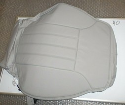 New Oem Leather Seat Cover Mercedes Benz Ml R Class 06-13 Front Upper Gray Rh - $133.65