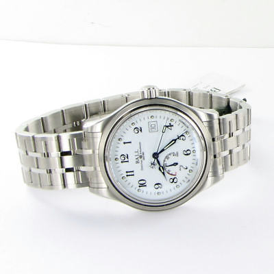 Ball NM1056D-S1J-WH Trainmaster Power Reserve 41mm Steel Watch NWT $3099