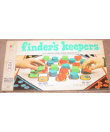 FINDERS KEEPERS MEMORY BOARD GAME 1969 MILTON BRADLEY COMPLETE EXCELLENT - $20.00