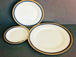 Fitz and Floyd Hanover American Settings Plates (3) - $39.59