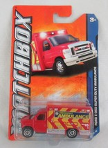 Matchbox Ford E-350 Super Duty Ambulance #4 MBX City - $4.94