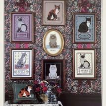 City Stitchers LOYAL FRIENDS CATS Cross Stitch Chart Persian Siamese Tab... - $3.96